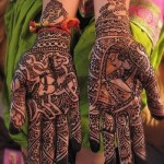 New Arabic Mehndi Design on hands