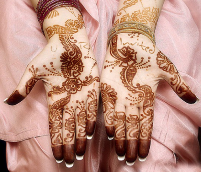 Latest Indian and Pakistani Mehndi Designs