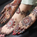 Indian and Pakistani Mehndi Designs on Hands and feet