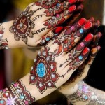 New Indian Mehndi Designs 2013