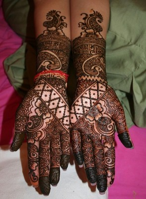 New Pakistani Mehndi Designs
