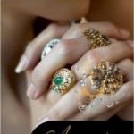 Latest Nadia Chotani Jewellery Designs at Pantene Bridal Couture week
