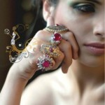 New Jewellery Designs by Argentum at Pantene Bridal Couture Week 2013
