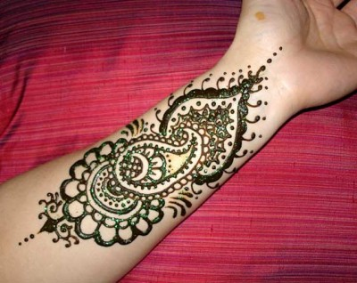 New Arabic Mehndi Design