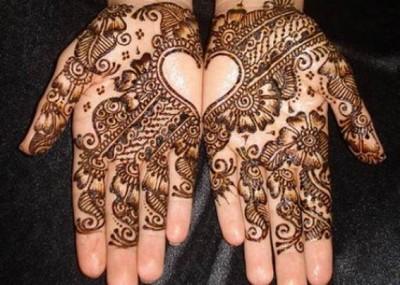 Latest Arabic Mehndi Design