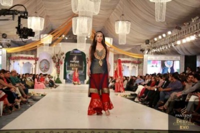 Latest Saira Rizwan Bridal Collection at Pantene Bridal Couture Week