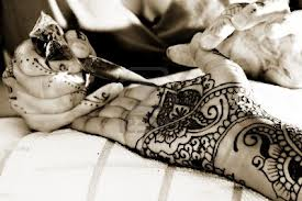 Art of Applying Mehndi on Hands