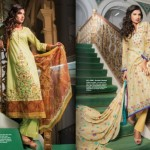 Latest Alkaram Lawn Designs