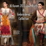 AlKaram 2013 Lawn Prints & Embroidered collection