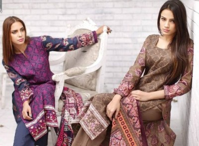 Latest Rabea Designer Embroidered Lawn Collection