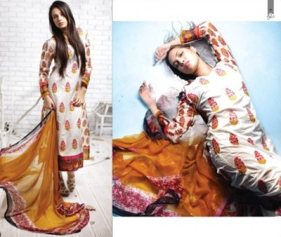 New Rabea Designer Embroidered Lawn Collection