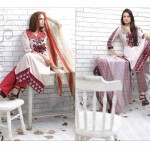 Latest Rabea Designer Lawn collection by Shariq Textiles