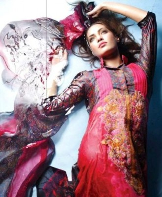 Rabea Designer Embroidered Lawn Collection by Shariq Textiles