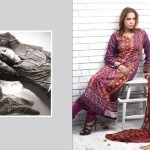 Latest Rabea Designer Embroidered Lawn Collection by Shariq Textiles
