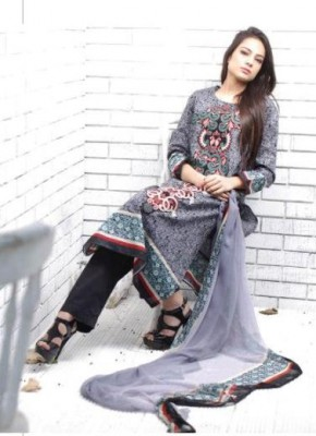 Shariq Textiles 2013 embroidered lawn collection of Rabea Designer