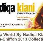 Hadiqa Kiani Fashion World Lawn 2013 Collection