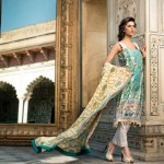 Mahnoush Lawn Collection for Spring/Summer 2013