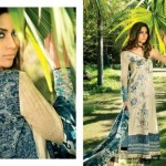 Mahnoush Lawn 2013 Collection for Spring/Summer