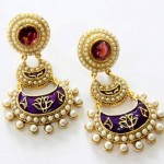 Earrings by Mariam Sikander