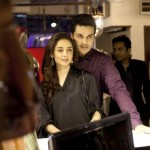 Sarwat Gillani and Ahsan Khan at Launch of Asim Jofa Bridal and Couture Studio