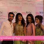 Momal Sheikh, Mehwish Hayat and Ayesha Omer at Veet Celebration of Beauty 2013