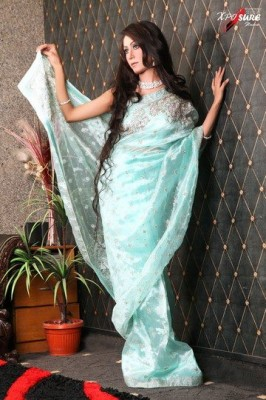 new saree styles for women