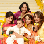 model mehreen syed with family