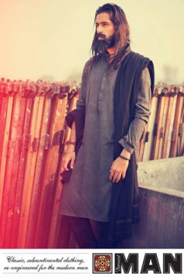 Men Kurta Latest Collection by Bareeze Man