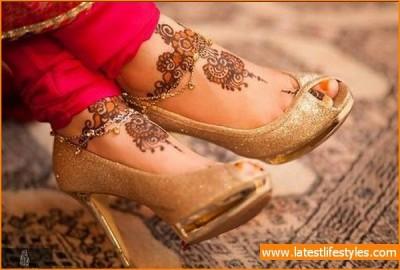 Arabic Mehndi Designs for Foot