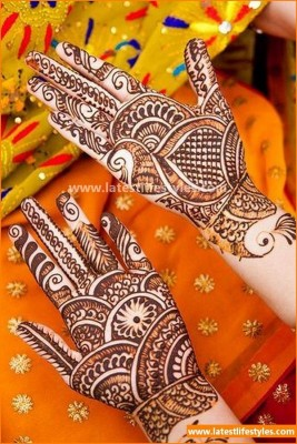 Beautiful Bridal Henna Designs Collection