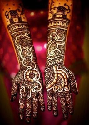 Latest Bridal Mehndi Designs 2014