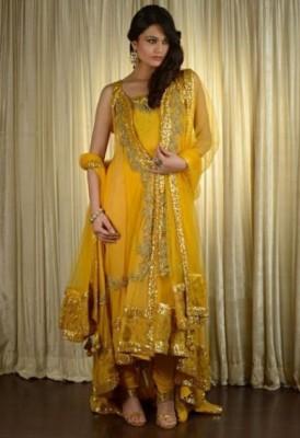 Latest Bridal Mehndi Wedding Dresses Collection 2014