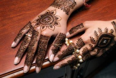 Latest Arabic Mehndi Designs Pics