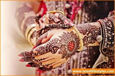 Trendy Bridal Mehendi Designs 2016-2017