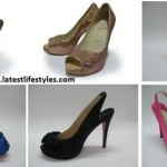 Latest Long Heel Shoes Styles for Women