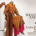 J. Junaid Jamshed Soully East Bahaar Aye Lawn Collection