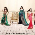 Latest Indian Sarees Designs Styles 2014 for Women
