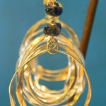 Precious Gold Earrings by Nashelle Jewelry
