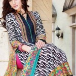 Nishat Textiles Lawn Spring Summer 2014 Collection for Women