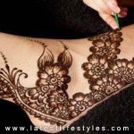 New Feet Mehndi Designs