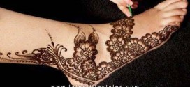 40 Easy and Simple Mehndi Design for Feet and Legs