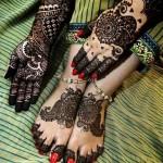 New Feet Mehndi Designs 2014