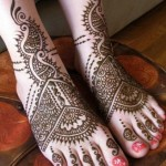 Latest Mehndi Designs for Foot