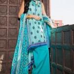 Khaadi Lawn Spring/Summer Dresses 2014
