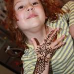 Mehndi Design or Henna Tattoo for Kids