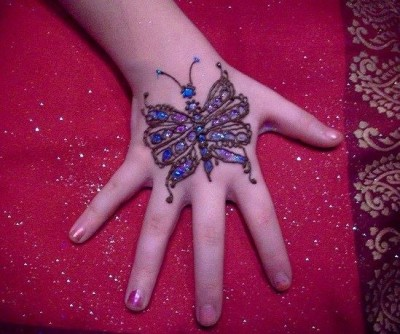 Mehndi Design or Henna Tattoo for Kids