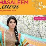Wardha Saleem Summer Lawn Collection 2014