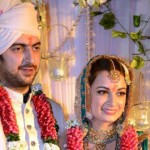 Dia Mirza Wedding Pics with Husband