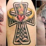 New Cross Tattoo Designs