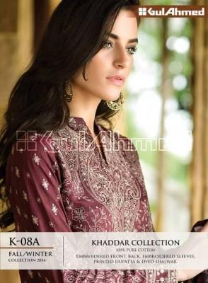 Gul Ahmed Khaddar Collection 2014-15